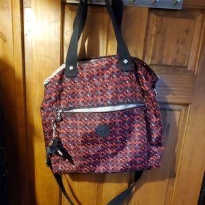 "Kipling Multi Printed 15"" Laptop Tote Bag"